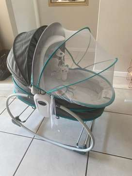 5 in 1 rocker basinet