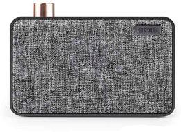 Портативна колонка EMIE Bluetooth Speaker Canavas, Black