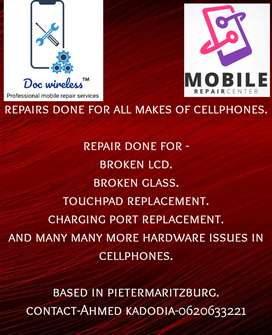 Professional cell phone repairs By Doc wireless
