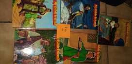 Assorted children's reading books and toys