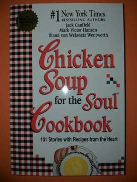Chicken Soup For The Soul Cookbook - Jack Canfield.