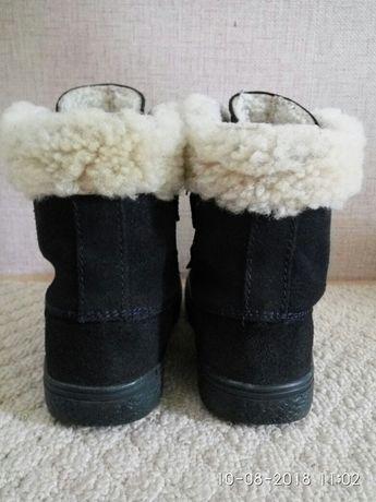 Польские зимние замшевие ботинки Mrugyla, 26 размер Киев - изображение 3