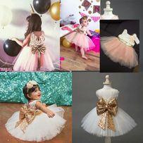 Шикарные Нарядные Платья Для Девочки! День Рождения