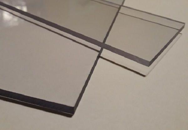 Płyty - poliwęglan lity 4 mm bezb.- 2,05x3,05 m 2xUV-szkło bezpieczne Mstów - image 1