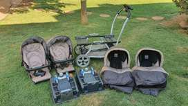 Peg Perego Duette Twin Travel System