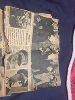 Газета стара продам