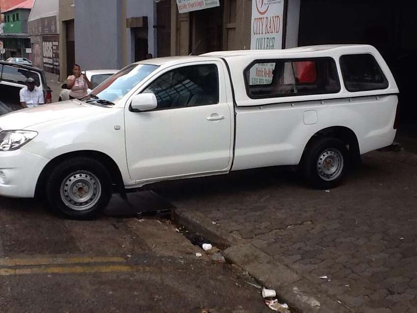 Toyota Hilux is available for viewing and test driving