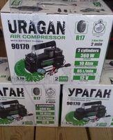 Компрессор автомобильный URAGAN [Ураган] / 90170 / 85 л\мин / для шин