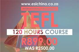 TEFL Certificate Course - R899 ONLY (Teach English Online)