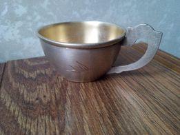 Кофейная чашка из мельхиора