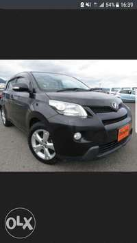 Toyota Ist Black colour 2010 model. KCP number 0