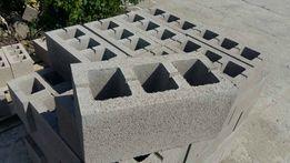 Шлакоблок строительный трехсекционный