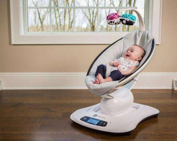 Electric baby bouncer -Mamaroo 0