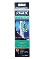 Dual clean EB417 (3 штуки), насадки для зубной щетки Oral-B Подробнее