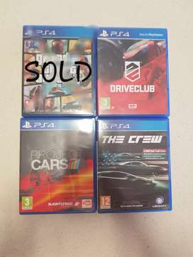 Playstation 4 games R300 each