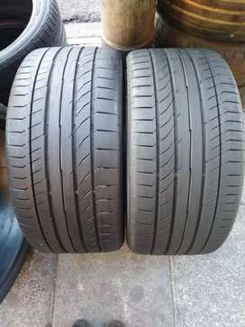 Two tyres sizes 254/40/18 continental SSR now available