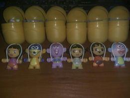 Киндер сюрприз серия Дора Dora