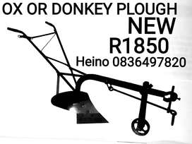 Ox or Donkey plough