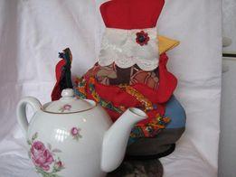петух-грелка на чайник