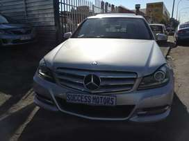 2013 Mercedes-Benz c 200 cdi automatic with sunroof