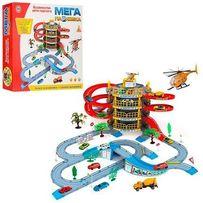 """Игровой набор-гараж 922-10 """"Мега-парковка"""", 4 этажа, машинки, трек"""