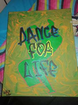 dance for life art canvas