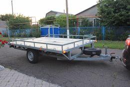 Новый оцинкован прицеп платформа для перевозки квадроцикла МАВЕРИКА