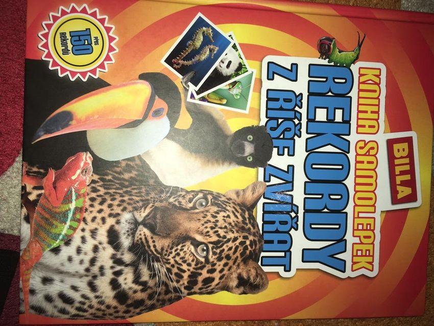 Vyplněná kniha Rekordy z říše zvířat 0
