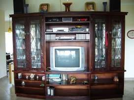 Custom Built Antique Wall Unit