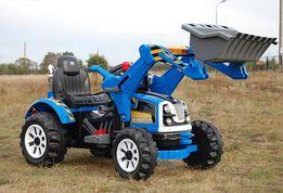 MOCNY Traktor z łyżką KINGDOM KOPARKA KINGDOM Traktor 12V 2 prędkości