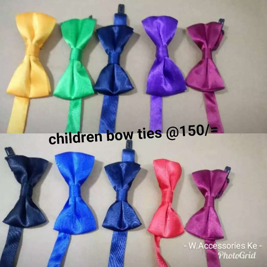 Imported Children bow ties 0