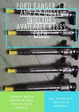 Ford Ranger 3.2l and 2.2l Injectors available