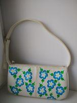 клатч женский сумка сумки с ручной росписью