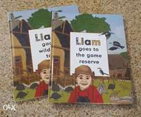 Image of Liam goes to the game reserve/Liam gaan wildtuin toe hard cover books