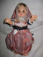 Коллекционная кукла в народном костюме,винтаж.