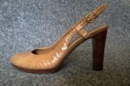 Nowe buty, Ralph Lauren Maegan, skóra krokodyl 9 US- 40-40,5 EUR