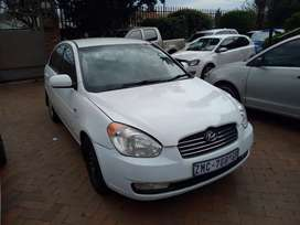 Hyundai Accent 1.6Vvti Sedan Manual For Sale
