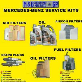 ALL MERCEDES BENZ MODELS SERVICE KITS AVAILABLE