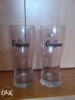 Новые пивные бокалы 12 штук 0,5 литра