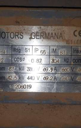 Electric motor 37 kw