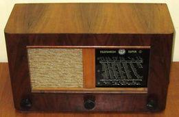 антикварное радио, telefunken-super 265 w k