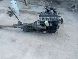 Original Toyota 3y 4y complete engine and gearbox