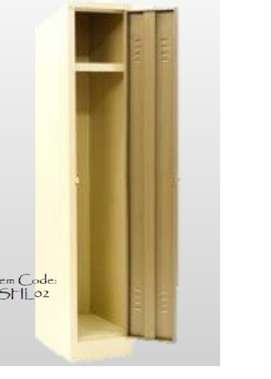 1800x300x450 Single door locker