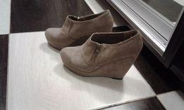Ботинки на платформе 39 размер