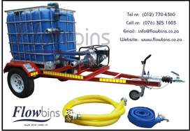 NEW 1000Lt - 2500Lt Sewerage Trailers with Papers