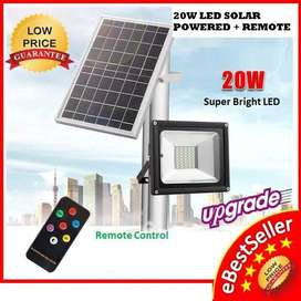 Solar LED Floodlights with Remote Control Brand New Products