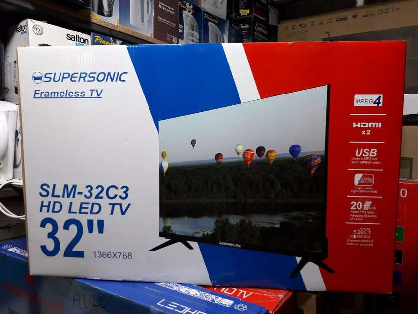 32inch Supersonic Super Slim LED TV for only R1900 with a Warranty 0