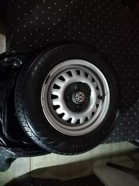 """Good condition 13"""" rims and tires"""