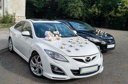 Весільний кортеж, авто на весілля, оренда авто, прокат авто Mazda 6