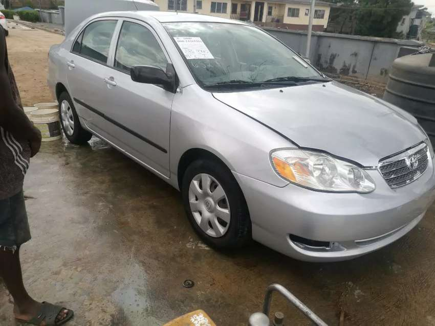 Foreign used 2008 Toyota Corolla 0
